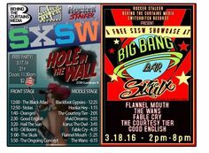 Behind The Curtains Media Announce SXSW Showcases // #SwitchBitchNoise #SBN