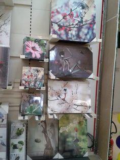 Les œuvres de l'artiste rennaise Sibylle Dodinot sont au rayon décoration.