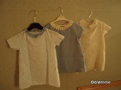 Drømmedesign.  Children's dresses.