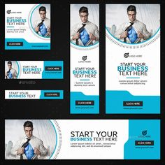 Buy Multipurpose Banners by Hyov on GraphicRiver. Promote your Products and services with this great looking Banner Set. Web Design, Graphic Design Art, Layout Design, Display Banners, Social Media Ad, Web Banner, Negative Space, Marketing, Lorem Ipsum