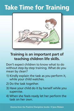 Take Time for Training | Positive Discipline