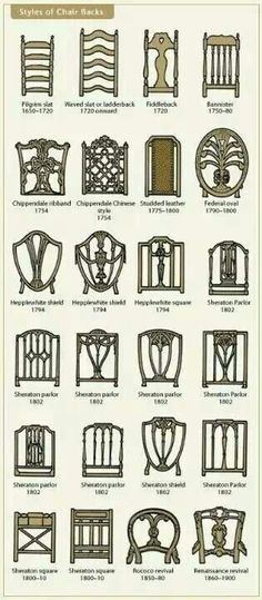 Identifying old chairs