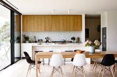 cocina con azulejos - Frentes de cocina: cuáles son las mejores opciones