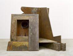 ANTHONY CARO End Up (2010), Steel, cast iron & jarrah wood, 183 x 229 x 158cm, B2841
