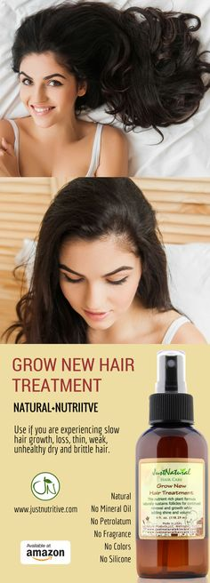 Use if you are experiencing slow hair growth, loss, thin, weak, unhealthy, dry and brittle hair.
