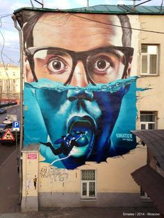 Street art by Smates. Russia