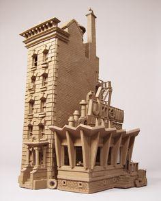 clay building, John Brickels