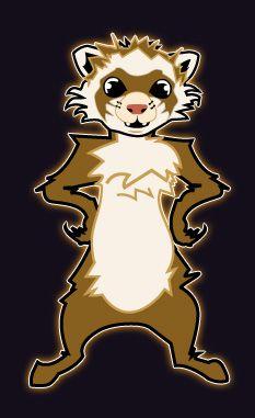 Loki the ferret | Solace Amongst Nightmares