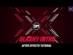 After Effects Tutorial : Amazing Slashy Intro with Shapelayers - YouTube