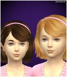 Simista: Ela 4G hairstyle retextured for Sims 4