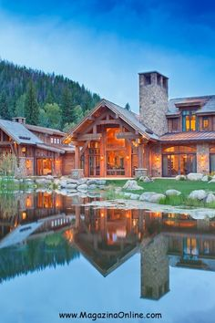 Spending the winter holidays in the mountain in a great mountain house next to the fireplace with the people you love is great felling. Mountain houses are perfect place for relaxation in the cold winter days.  Here we offer you a collection of 25 amazing mountain houses that look so great.