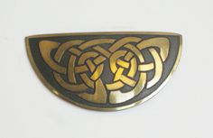 Celtic Knot Brooch/pin for St Patrick's by mainevintagetreasure, $19.00