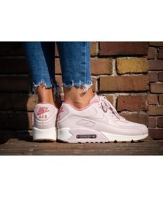 info for 75fe0 ede48 Nike Air Max 90 LEA Trainers In Pink White Cheap Nike Trainers, Mens  Trainers,