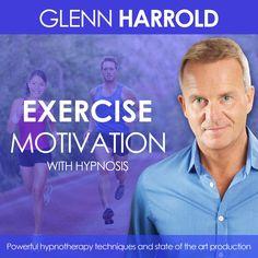Exercise & Fitness Motivation - Hypnosis MP3 by Glenn Harrold