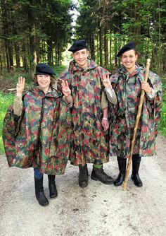 CH-Armeepelerinen in Kinder- und Jugend gerechten Grössen