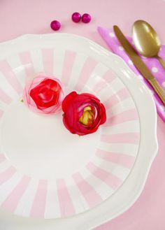 Assiettes en Carton à Rayures ou Bord Rayés Pour #SweetTables, #Anniversaire, Traiteurs, Mariage #Noel