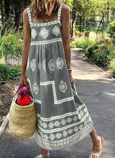 Boho Fashion, Fashion Dresses, Womens Fashion, Winter Fashion, Robe Diy, Casual Dresses, Summer Dresses, Maxi Dresses, Lazy Outfits