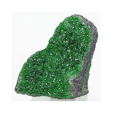 Uvarovite Green Druzy Garnet Crystals Cabbing by FenderMinerals,