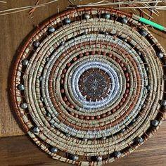 Holly Birdhouse #30 pine needle bsket base