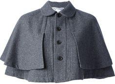 Comme des Garcons Vintage layered cape on shopstyle.com