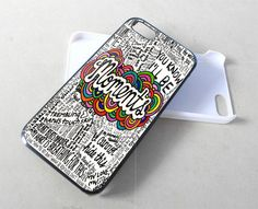 Moments One Direction Lyric for iPhone 4/4s/5/5s/5c, Samsung Galaxy s3/s4 case