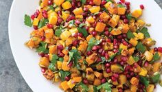 Roasted Butternut Squash Salad with Za'atar and Parsley - The sweet, nutty flavor of roasted butternut squash pairs best with flavors that are bold enough to balance that sweetness. We chose the traditional Middle Eastern spice blend za'atar (a pungent combination of toasted sesame seeds, thyme, marjoram, and sumac).