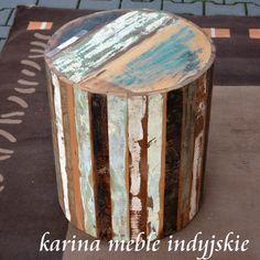 meble z Indii | stolik pieniek KE56