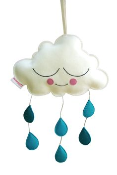 Mobiel wolk 100% wolvilt | Babystuffcompany