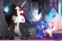 mlp art,my little pony,Мой маленький пони,фэндомы,Lauren Faust,понификация,mlp понификация,Princess Luna,принцесса Луна,royal,Princess Celestia,Принцесса Селестия