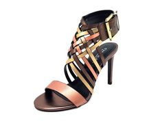 Charles by Charles David Isabel Rosegold Metallic Strappy Heel *** Check out this great image  : Strappy sandals