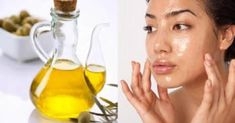 olio d'oliva viso