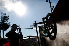 Pleno olímpico en la Copa del Mundo de mountain bike de Vallnord (Andorra).