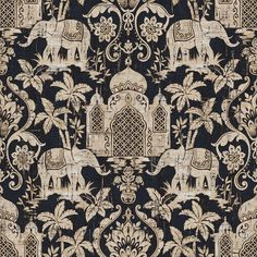 The Indo Chic elephants in black have a real rustic feel and would work well in a similar interior scheme.