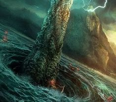 Ancient Greece Reloaded Legendary Monsters, Legendary Creature, Greek Sea, Greek Gods, Mythological Creatures, Mythical Creatures, Portal, Dragons, Daughter Of Poseidon