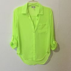 Pacsun Neon Top Thin material PacSun Tops