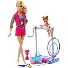 Teacher and protege are ready to reach for the gold with practice in a variety of events. Pick your favorite to start. Use the ribbon that fits in each dolls' hand to act out rhythmic dance. Hit the '...