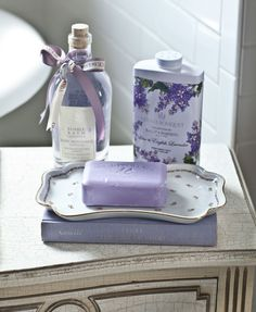 Country French Evening – Cedar Hill Farmhouse purple-soap-and-bubble-bath English Country Decor, French Country Bedrooms, French Country Cottage, Country Farmhouse Decor, French Country Style, Country Bathrooms, French Farmhouse, Shabby Cottage, Cottage Chic