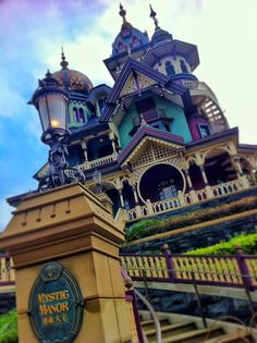 Mystic Manor, Hong Kong Disneyland, which is apparently full of awesome puppets
