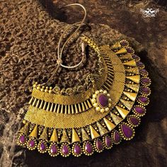 An ethnic necklace by Shree Raj Mahal Jewellers
