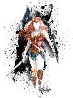 Wonder Woman Drawing, Wonder Woman Art, Wonder Woman Comic, Wonder Woman Tattoos, Wonder Women, X Men Funny, Wonder Woman Pictures, Wonder Woman Superhero, Superhero Poster