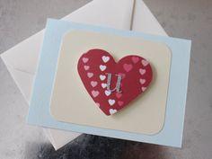Heart U Valentine card (flat) Loving U, Love, I Shop, Valentines, Unique Jewelry, Handmade Gifts, Cards, Etsy, Flat
