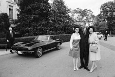 This 1965 Corvette Stingray was a gift to LBJ's daughter Luci on her 18th birthday.