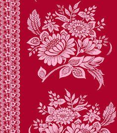 Jennifer Paganelli Quilt Fabric- Floral Stripe