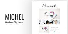 Michel - Clean WordPress Blog Theme
