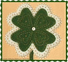 March's Blessing and Bunny Bundles http://theraspberryrabbits.blogspot.com/2015/03/marchs-blessing-and-bunny-bundles.html Front of Poem - St. Pat's Day
