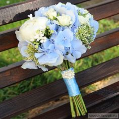 голубая гортензия букет невесты: 19 тыс изображений найдено в Яндекс.Картинках