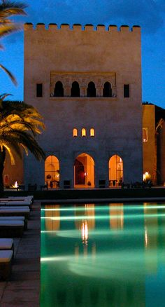 Ksar Char-Bagh hotel - Marrakech, Morocco