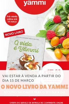 Livro de receitas #yammi Good Food, Favorite Recipes, Recipe Journal, New Books, Eat Right, Yummy Food