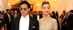 I want this dress! Johnny and Amber Make a Surprise Met Gala Stop