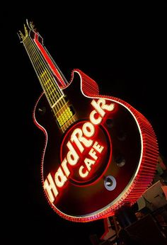 29 Best Hard Rock Cafe Guitar Sign images in 2019 | Hard